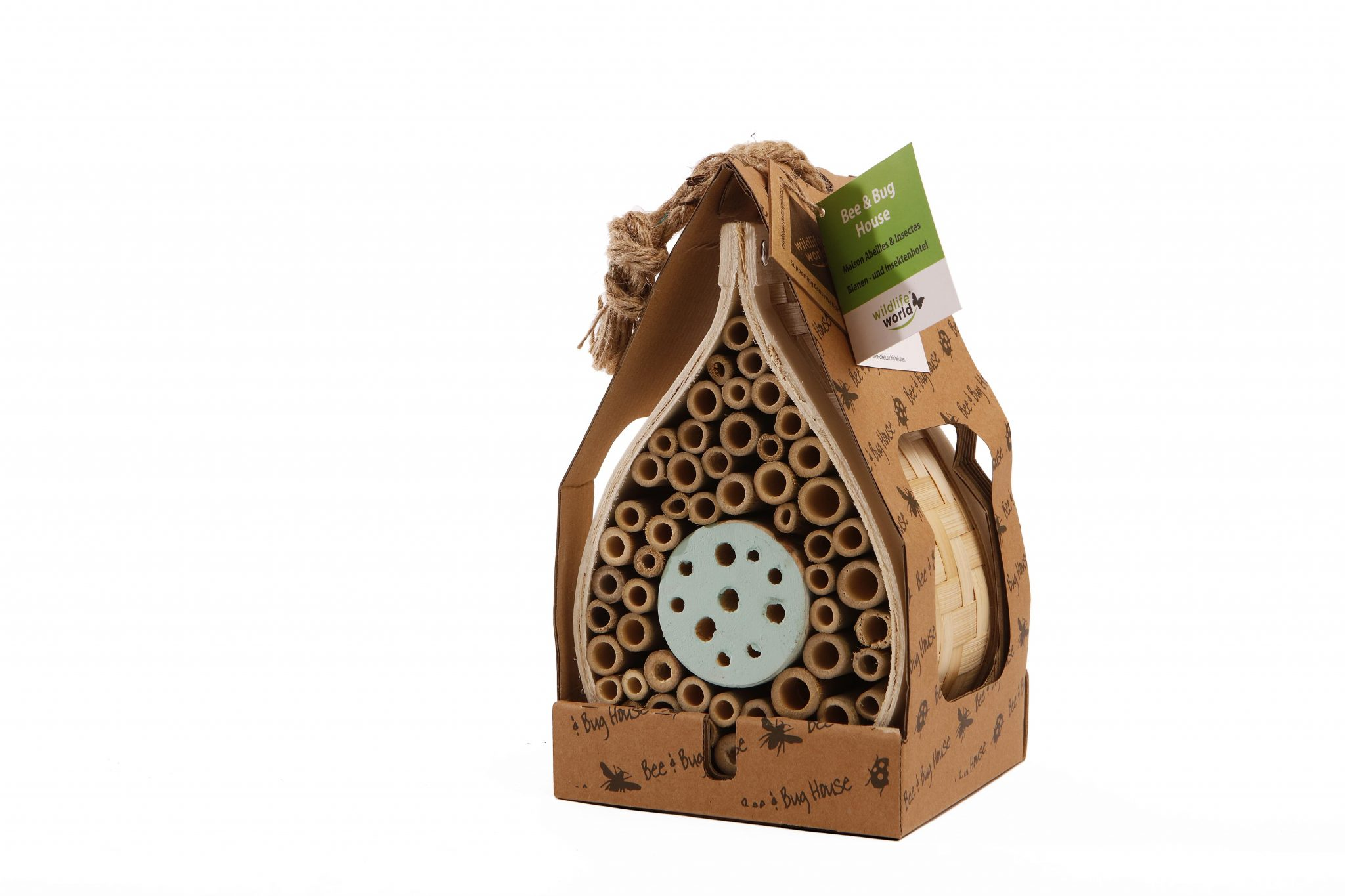 Dewdrop bee and bug home
